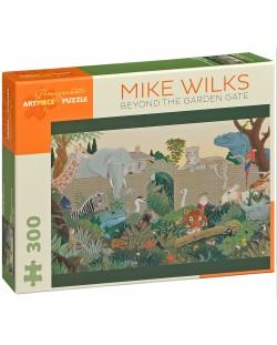 Puzzle Pomegranate de 300 piese - Dincolo de poarta gradinii, Mike Wilks