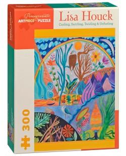 Puzzle Pomegranate de 300 piese - Infasurare, pliere, Lisa Houck