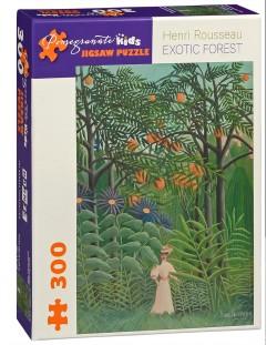 Puzzle Pomegranate de 300 piese - Padurea exotica, Henri Rousseau