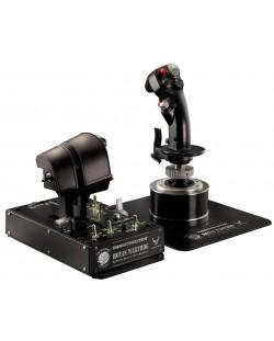 Set joystick si throttle Thrustmaster - Hotas Warthog, pentru PC