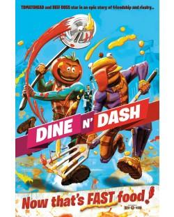 Poster maxi GB Eye Fortnite Dine N' Dash