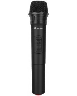 Microfon NGS - Singer Air, woreless, negru