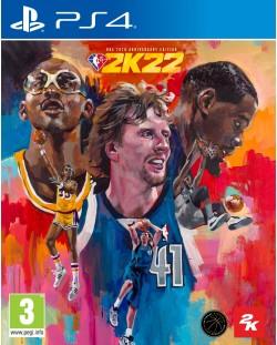NBA 2K22 - 75th Anniversary Edition (PS4)