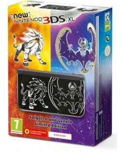 New Nintendo 3DS XL - Solgaleo and Lunala Limited Edition