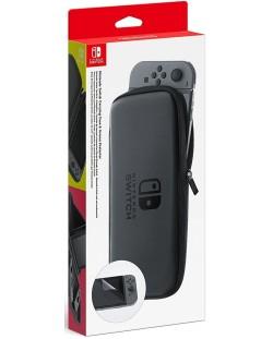 Nintendo Switch - Gentuta de depozitare si protector de ecran