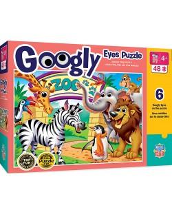 Puzzle Master Pieces de 100piese - Zoo Animals