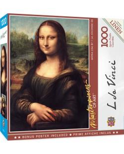 Puzzle  Master Pieces de 1000 piese - Mona Lisa