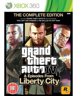 Grand Theft Auto IV - Complete Edition (Xbox One/360)