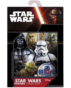 Postere ABYstyle Movies: Star Wars - Saga, 9 buc.