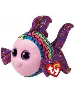 Jucarie de plus TY Toys Beanie Boos - Pestisor Flippy, colorat, 15 cm