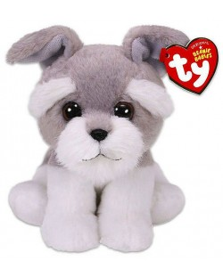 Jucarie de plus TY Toys Beanie Babies - Catelus Nagreg, gri, 15 cm