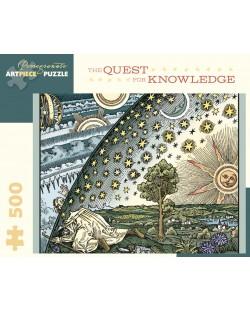 Puzzle Pomegranate de 500 piese - Misiunea cunoasterii