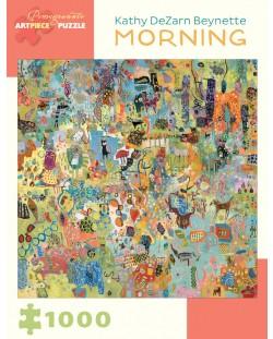 Puzzle Pomegranate de 1000 piese - Dimineata, Catherine Beynet