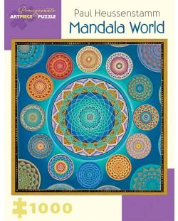 Puzzle Pomegranate de 1000 piese - Lumea  Mandala, Paul Heussenstamm