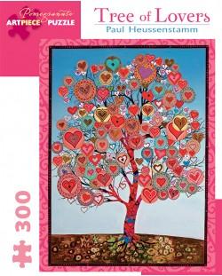 Puzzle Pomegranate de 300 piese - Copacul indragostitilor, Paul Heussenstamm