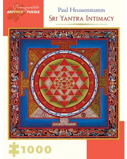Puzzle Pomegranate de 1000 piese - Intimitatea Sri Yantra, Paul Heussenstamm