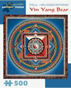 Puzzle Pomegranate de 500 piese - Yin Yang Bear, Paul Heussenstamm