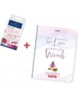 Set cadou Faber Castell - Sweet Love