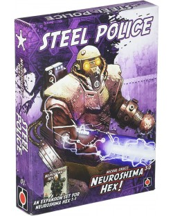 Neuroshima Hex 3.0 Board Game: Steel Police Expansion