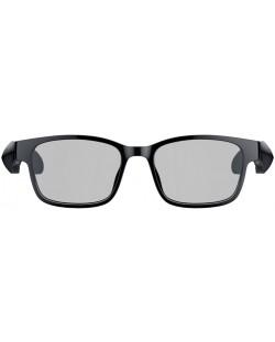 Ochelari smart Razer - Anzu Rectangle Blue Light + Sunglass L, negri