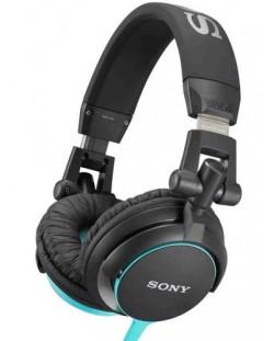 Casti Sony MDR-V55 - albastre