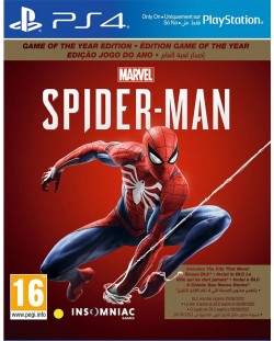 Marvel's Spider-Man - Game Of the Year Edition (PS4)