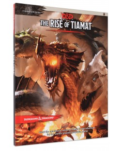 Joc de rol Dungeons & Dragons - Tyranny of Dragons:The Rise of Tiamat Adventure (5th Edition)