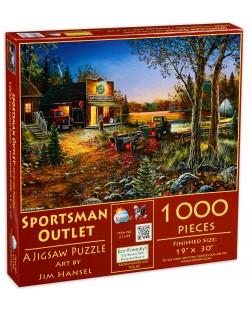 Puzzle SunsOut de 1000 piese - Outlet sportiv, Jim Hansel
