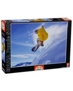 Puzzle Educa de 500 piese - Snowboard
