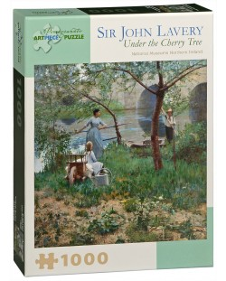 Puzzle Pomegranate de 1000 piese - Sub cires, Sir John Lavery