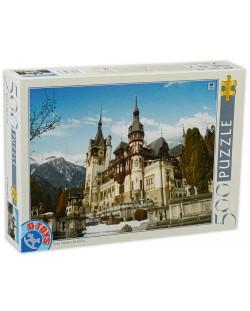Puzzle D-Toys de 500 piese - Peles Castle, Romania