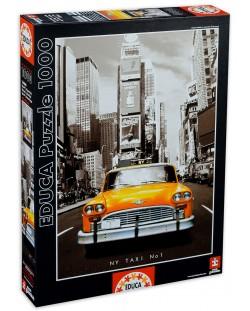 Puzzle Educa de 1000 piese - Taxi in New York