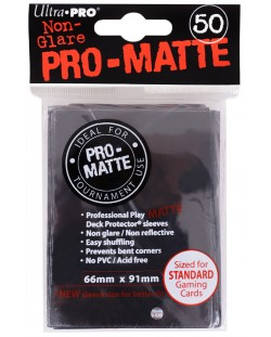 Ultra Pro Card Protector Pack - Standard Size - negre