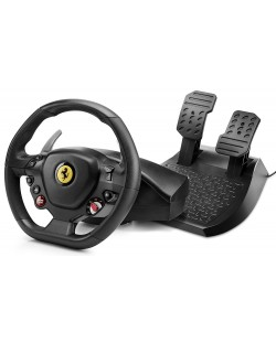 Volan cu pedale Thrustmaster T80 Ferrari 488 GTB Edition - PC, PS4