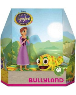 Set figurine Bullyland Tangled The Series - Rapunzel si Pascal