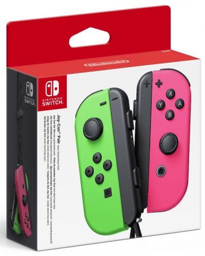 Nintendo Switch Joy-Con (set controllere) - verde/roz - 1