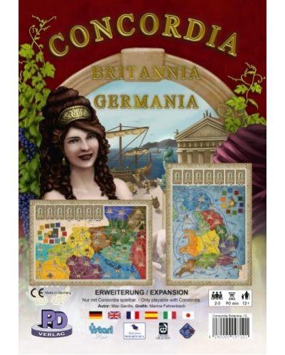 Extensie pentru jocul de societate Concordia: Britannia & Germania - 1