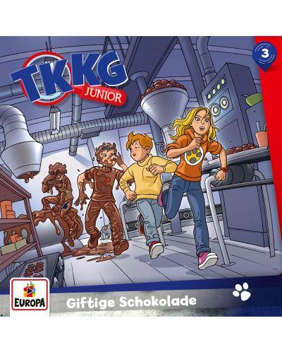 TKKG Junior - 003/Giftige Schokolade - (CD) - 1