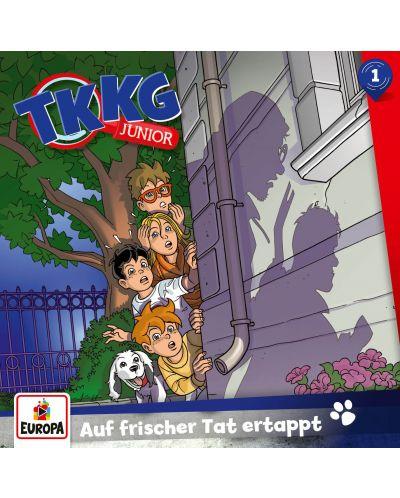 TKKG Junior - 001/Auf frischer Tat ertappt - (CD) - 1