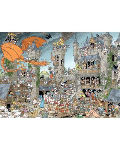 Puzzle Jumbo de 1000 piese - Bucati de istorie - Castelul Derks - 2