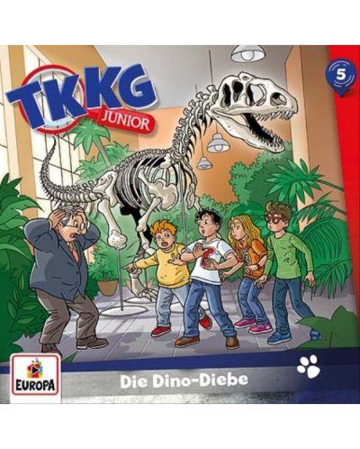 TKKG Junior - 005/Die Dino-Diebe - (CD) - 1