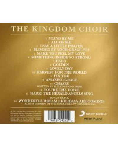 The Kingdom Choir - Stand By Me - (CD) - 2
