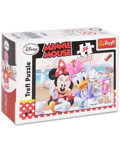 Mini puzzle Trefl de 54 piese - Minnie Mouse si Daizy - 1