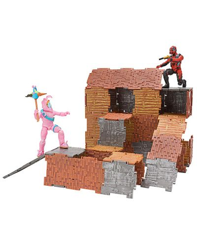 Set figurine Jazwares Fortnite - Turbo Builder Set, cu 2 figurine Rabbit Raider si Vertex, 89 piese - 2