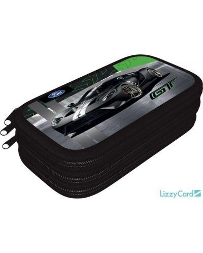 Penar scolar Lizzy Card - Ford GT, cu 3 compartimente - 1