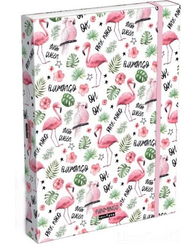 Cutie cu elastic  Lizzy Card A4 – Funmingo, Lollipop - 1