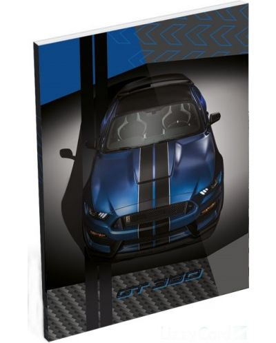 Agenda Lizzy Card - Ford Mustang GT, format A7 - 1