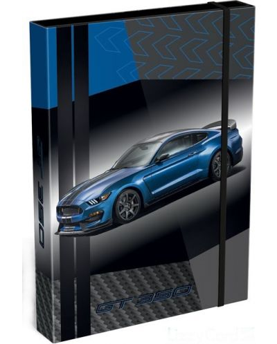 Cutie cu elastic  Lizzy Card A4 – Ford Mustang GT - 1