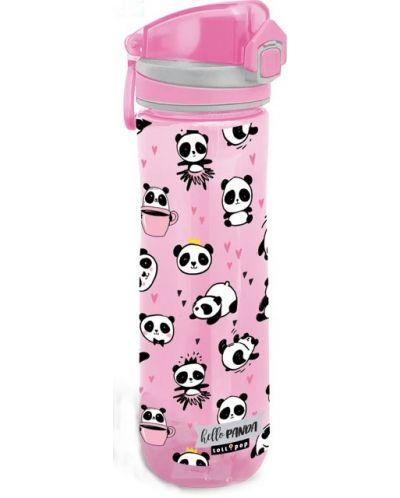 Sticla pentru apa Lizzy Card - Hello Panda, 600ml - 1