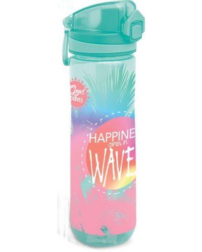 Sticla pentru apa Lizzy Card - Wave, 600ml - 1